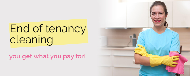 end of tenancy cleaning - prices